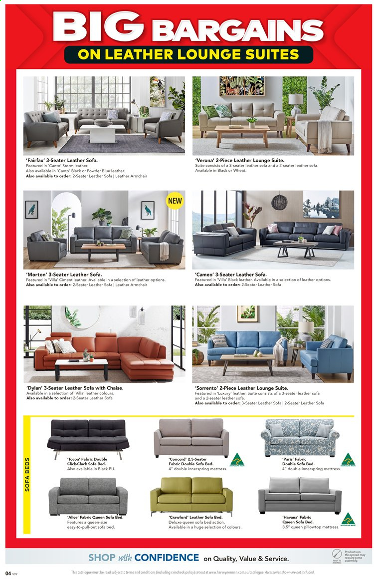 Harvey Norman catalogue  - 27.3.2020 - 19.4.2020. Page 4.