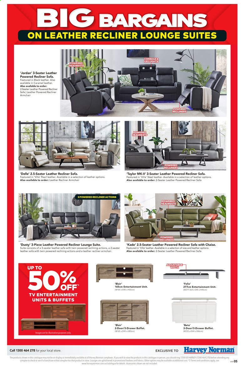 Harvey Norman catalogue  - 27.3.2020 - 19.4.2020. Page 5.