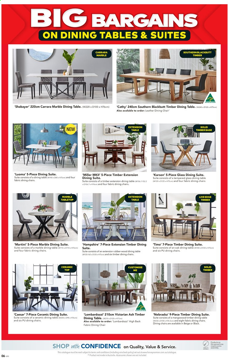 Harvey Norman catalogue  - 27.3.2020 - 19.4.2020. Page 6.