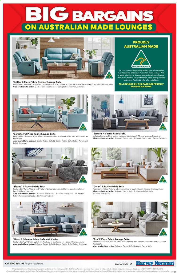 Harvey Norman catalogue  - 27.3.2020 - 19.4.2020. Page 7.