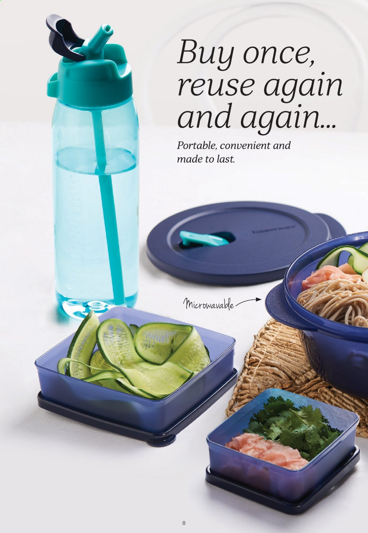 Tupperware catalogue  - 30.3.2020 - 3.5.2020. Page 8.