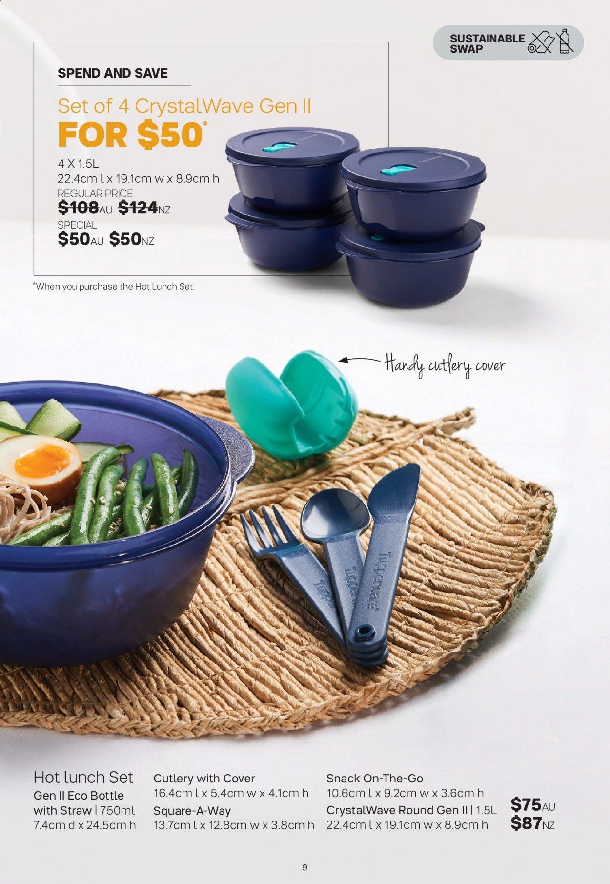 Tupperware catalogue  - 30.3.2020 - 3.5.2020. Page 9.