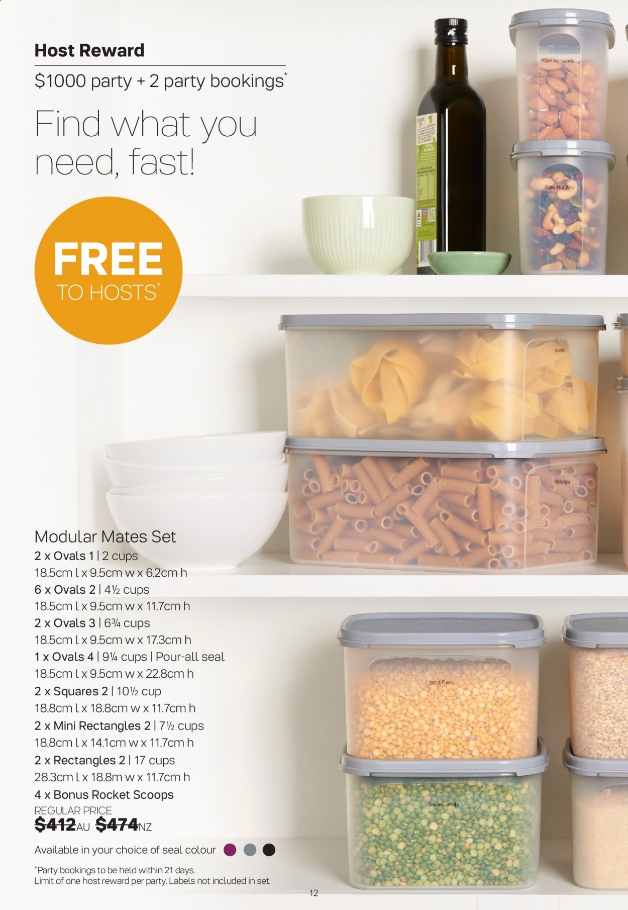 Tupperware catalogue  - 30.3.2020 - 3.5.2020. Page 12.
