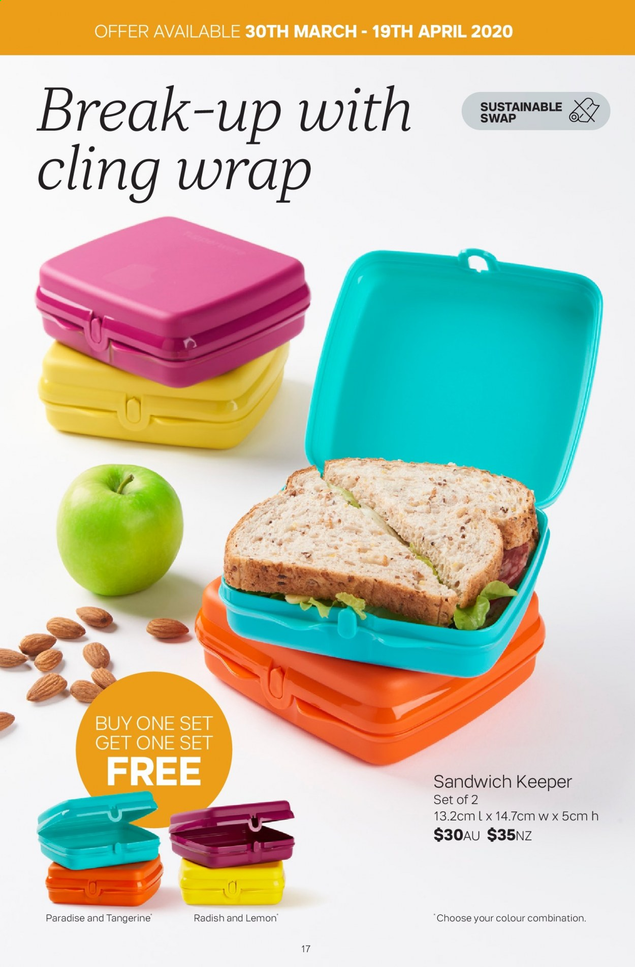 Tupperware catalogue  - 30.3.2020 - 3.5.2020. Page 17.