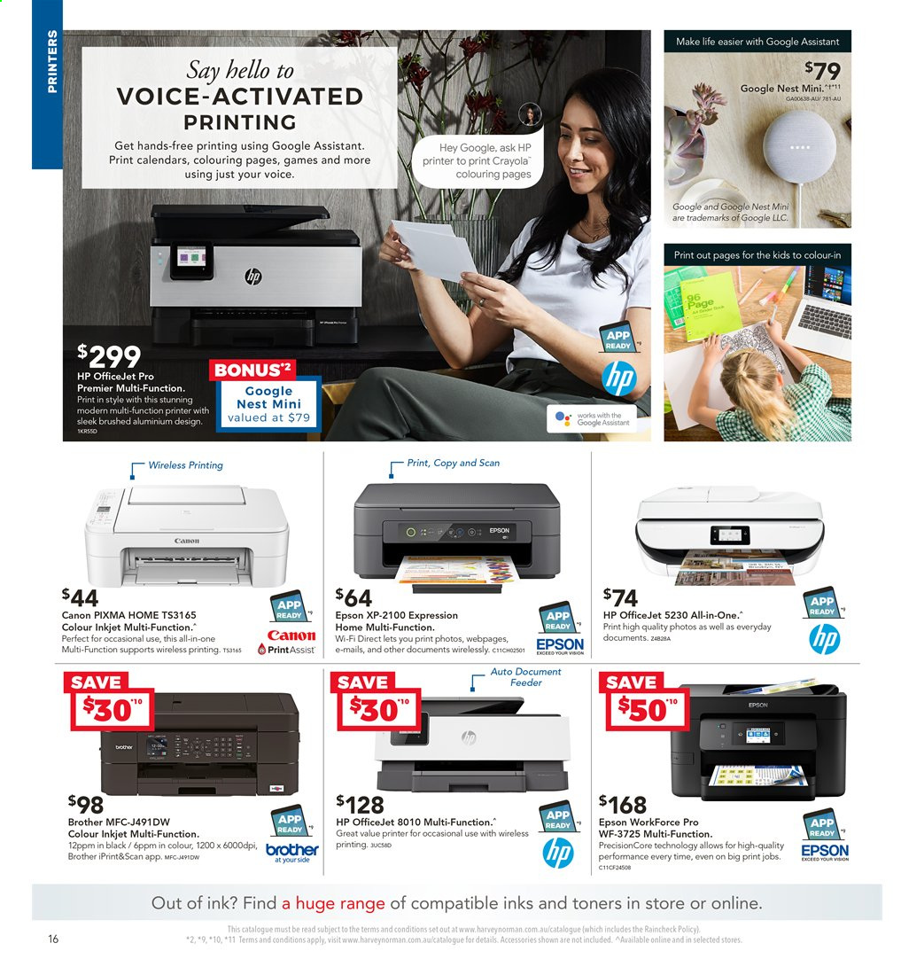 Harvey Norman catalogue  - 2.4.2020 - 19.4.2020. Page 16.