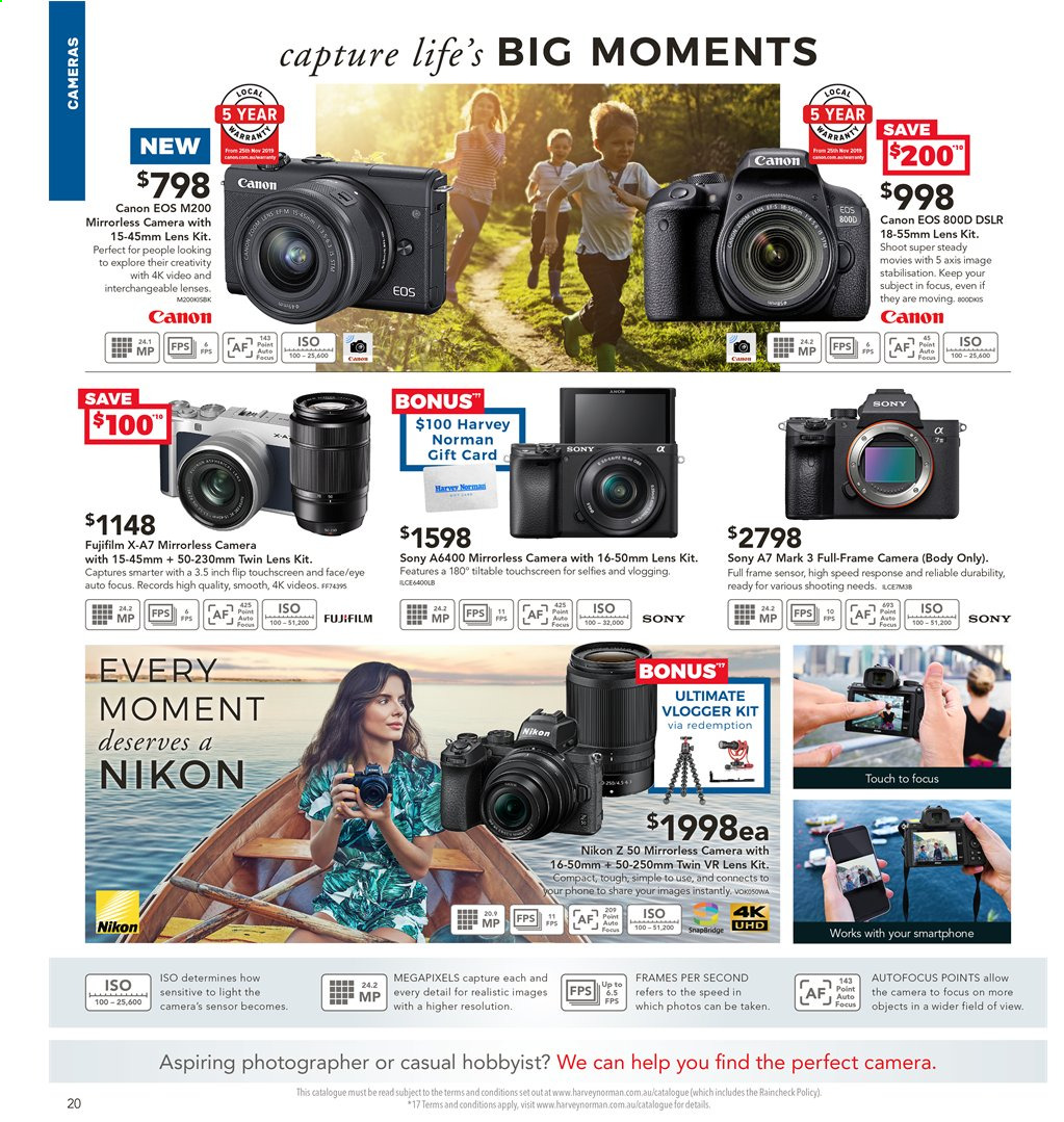 Harvey Norman catalogue  - 2.4.2020 - 19.4.2020. Page 20.