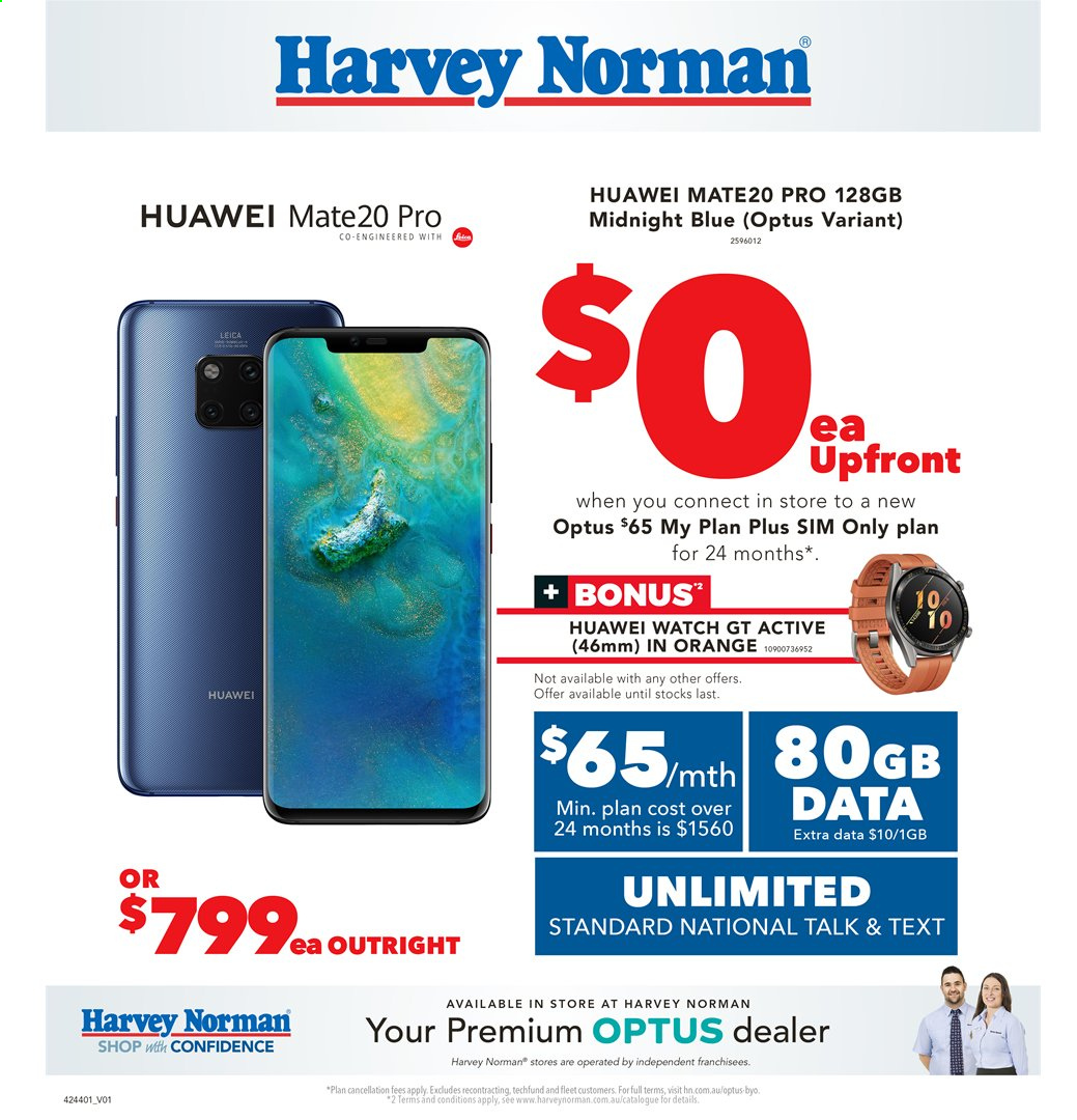 Harvey Norman catalogue  - 2.4.2020 - 19.4.2020. Page 32.