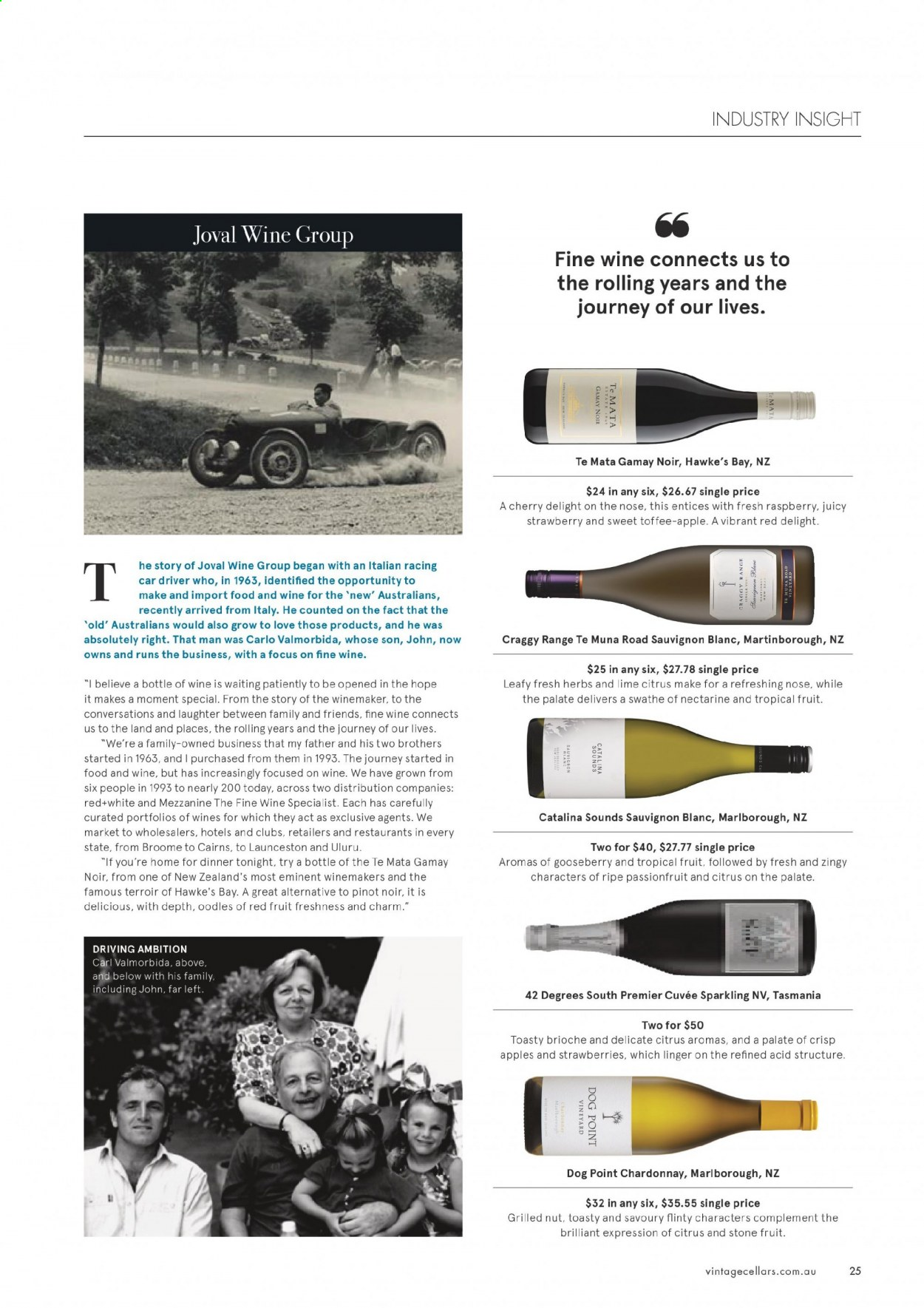 Vintage Cellars catalogue  - 1.7.2020 - 11.8.2020. Page 25.