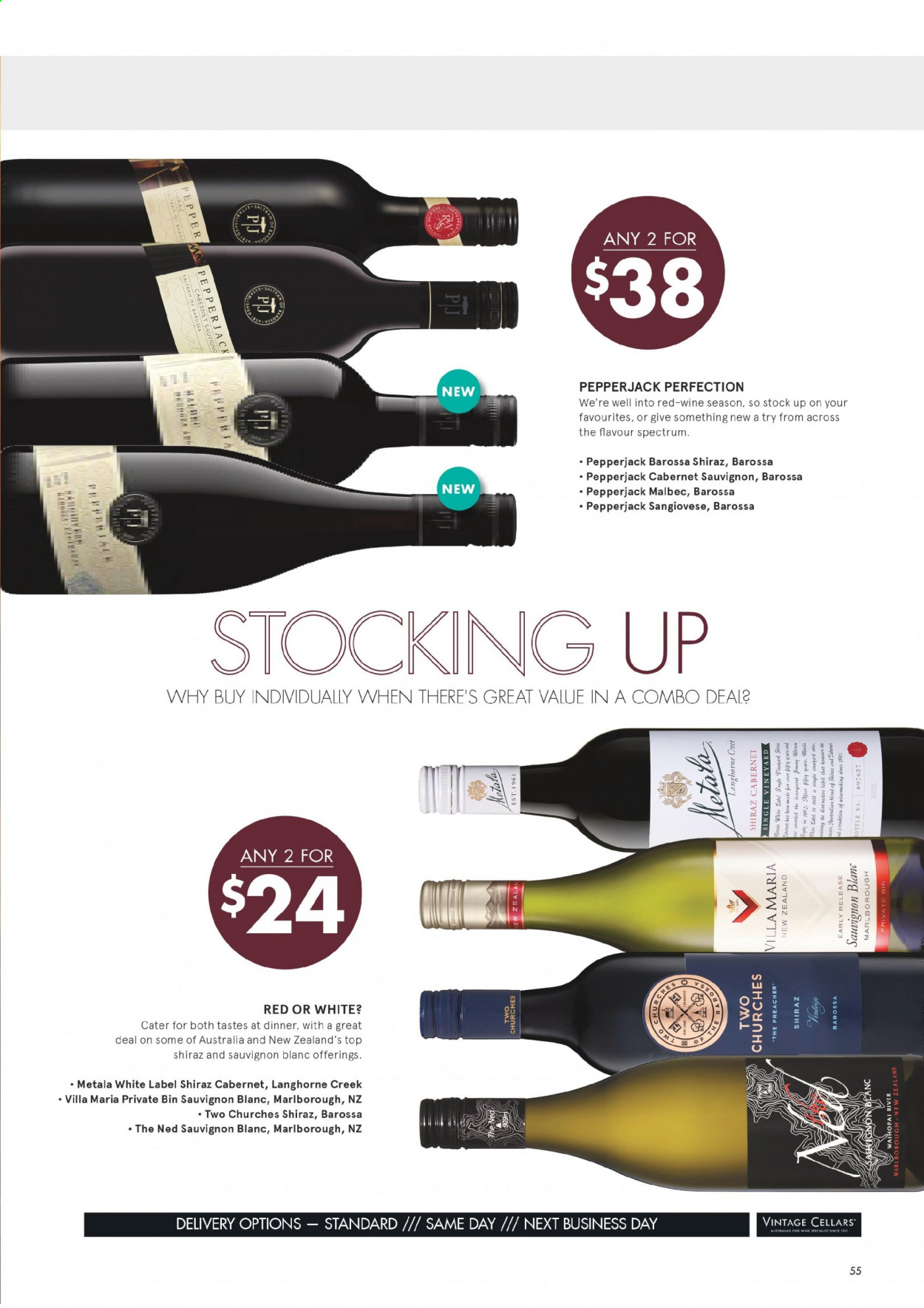 Vintage Cellars catalogue  - 1.7.2020 - 11.8.2020. Page 55.