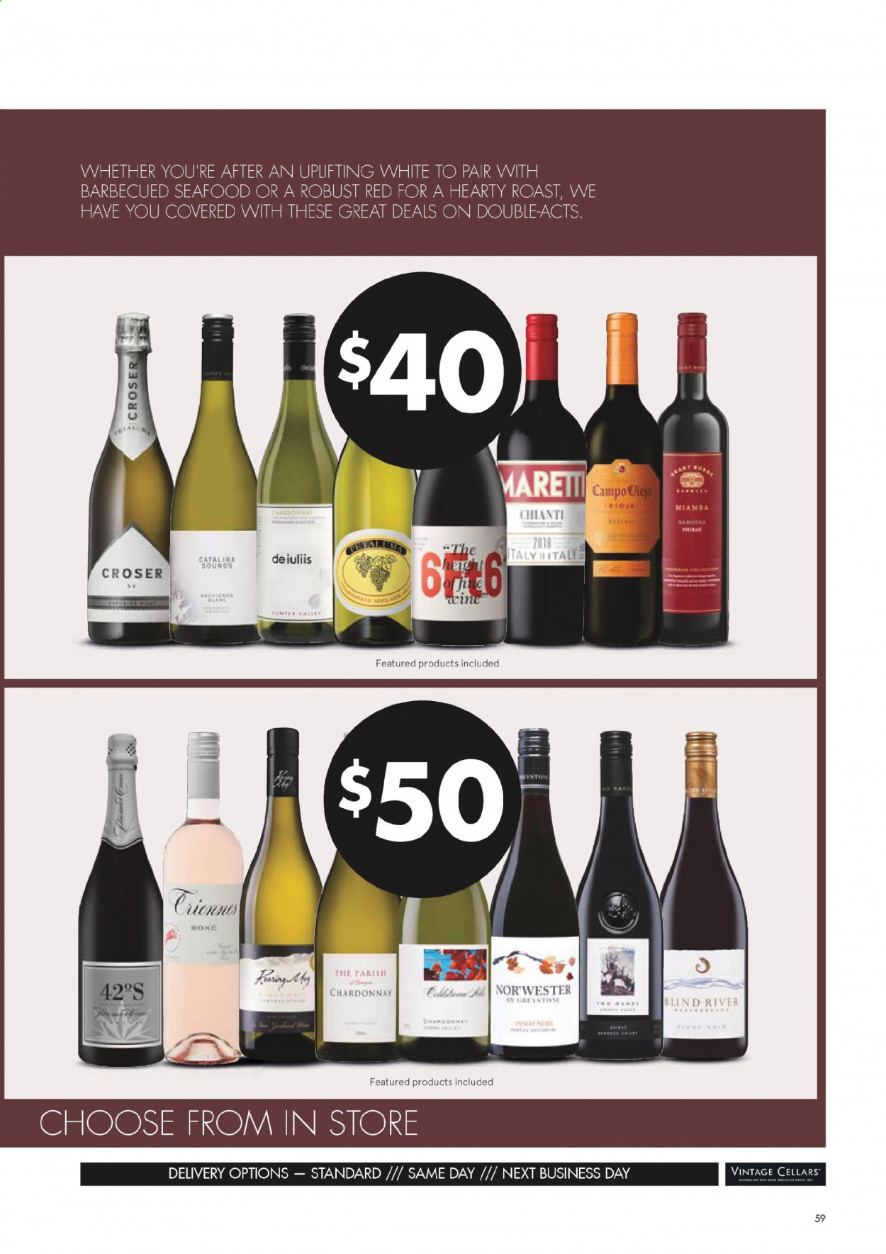 Vintage Cellars catalogue  - 1.7.2020 - 11.8.2020. Page 59.