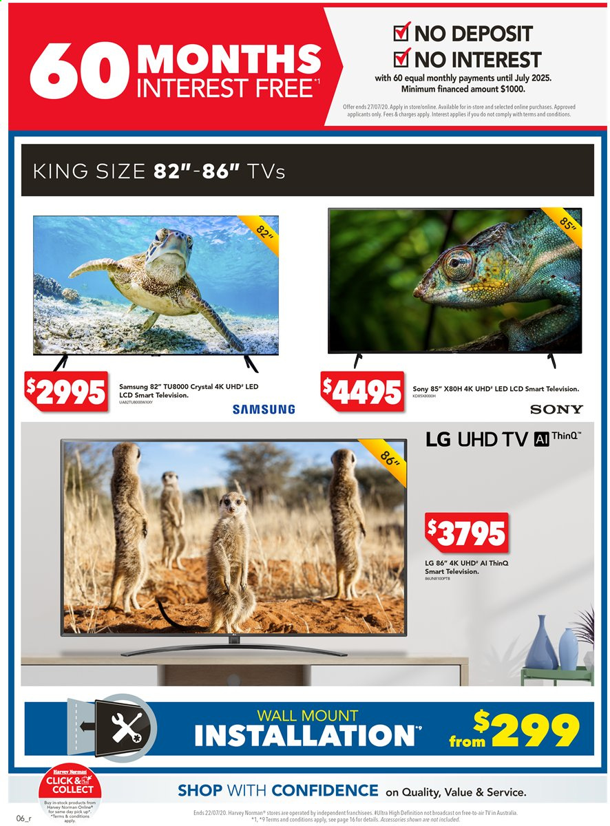 Harvey Norman catalogue  - 15.7.2020 - 22.7.2020. Page 6.