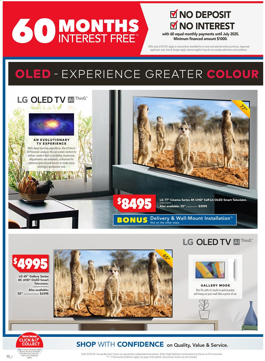Harvey Norman catalogue  - 15.7.2020 - 22.7.2020. Page 10.
