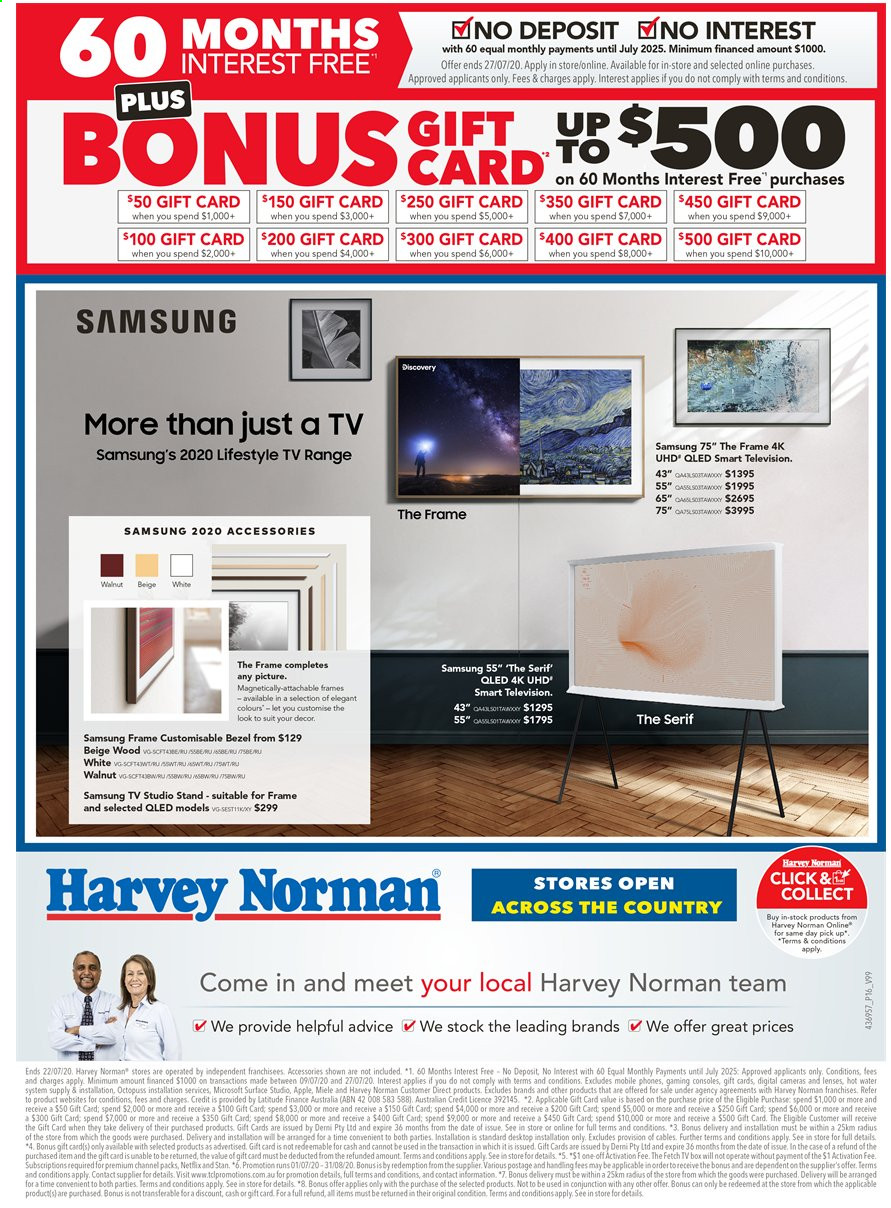 Harvey Norman catalogue  - 15.7.2020 - 22.7.2020. Page 16.