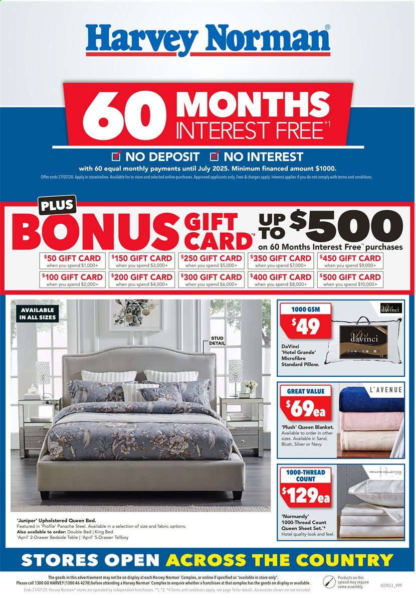 Harvey Norman catalogue  - 17.7.2020 - 21.7.2020. Page 1.