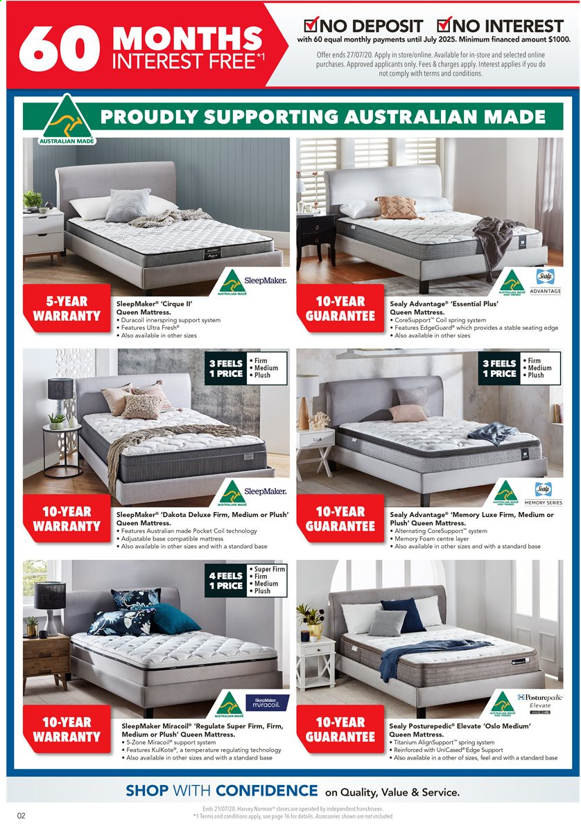 Harvey Norman catalogue  - 17.7.2020 - 21.7.2020. Page 2.