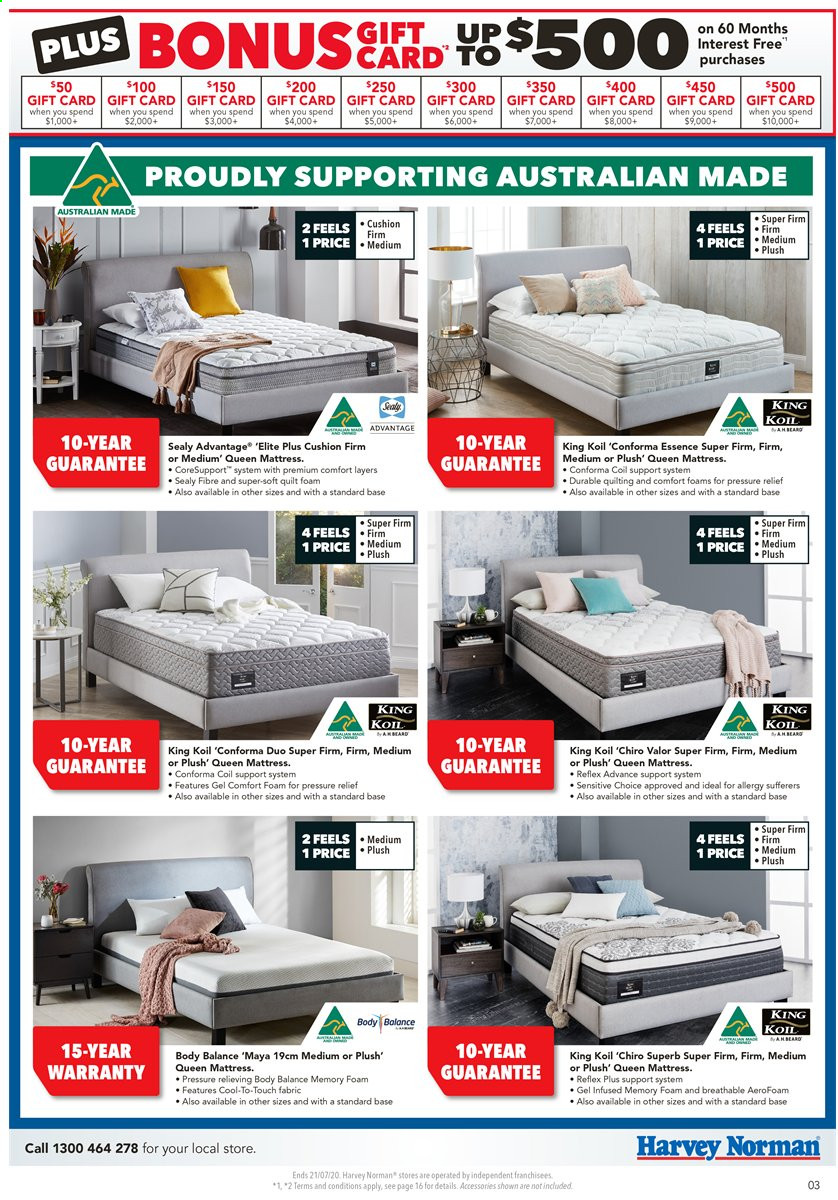 Harvey Norman catalogue  - 17.7.2020 - 21.7.2020. Page 3.