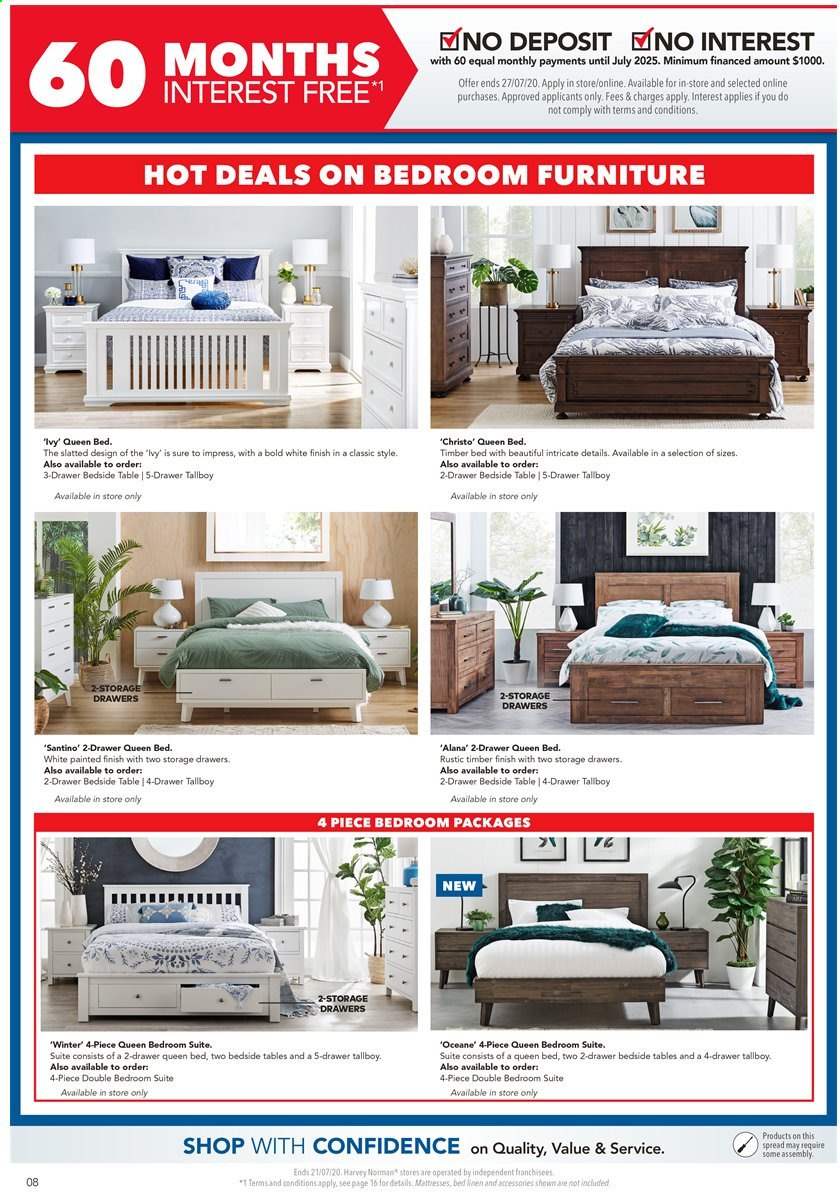 Harvey Norman catalogue  - 17.7.2020 - 21.7.2020. Page 8.