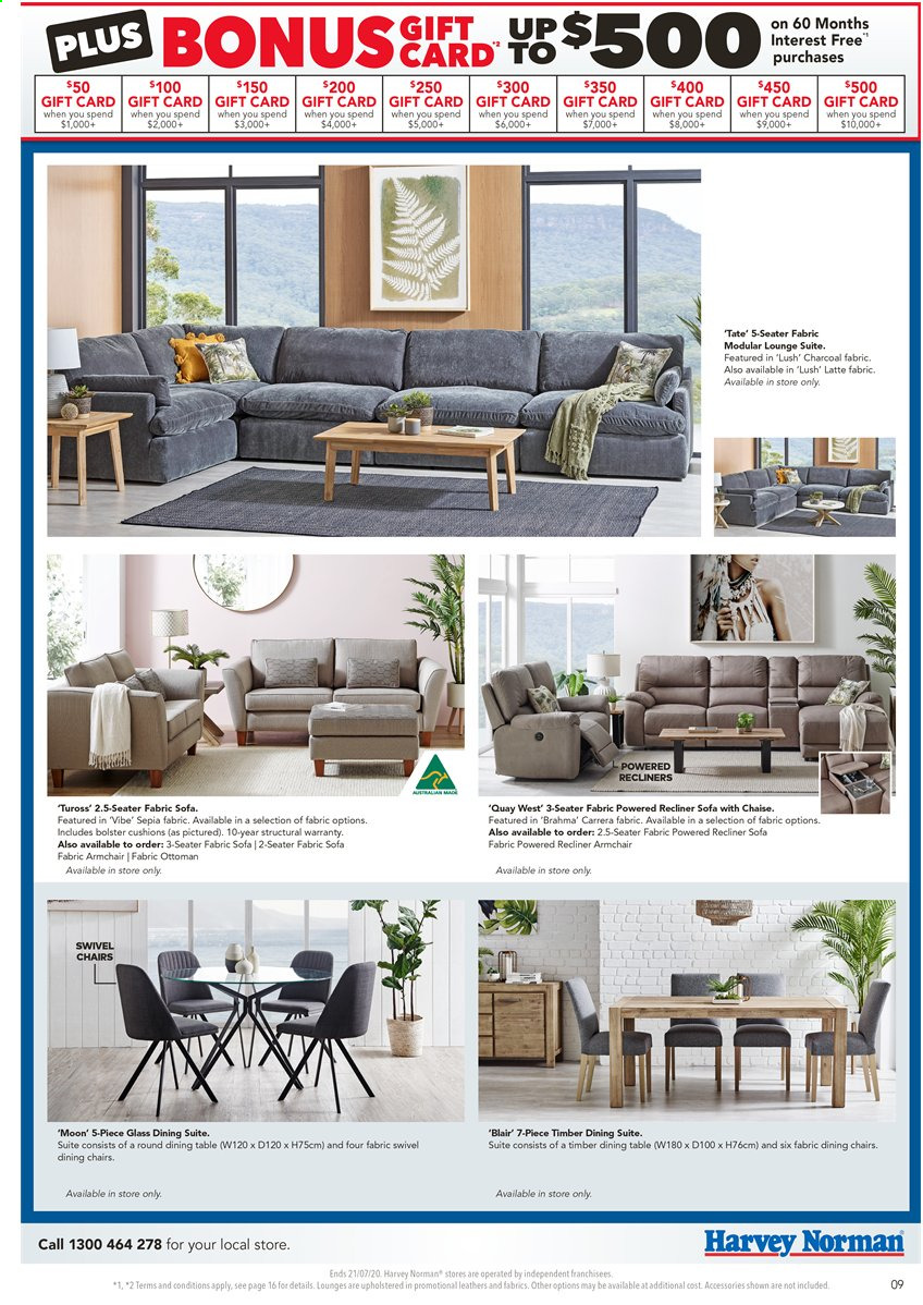 Harvey Norman catalogue  - 17.7.2020 - 21.7.2020. Page 9.
