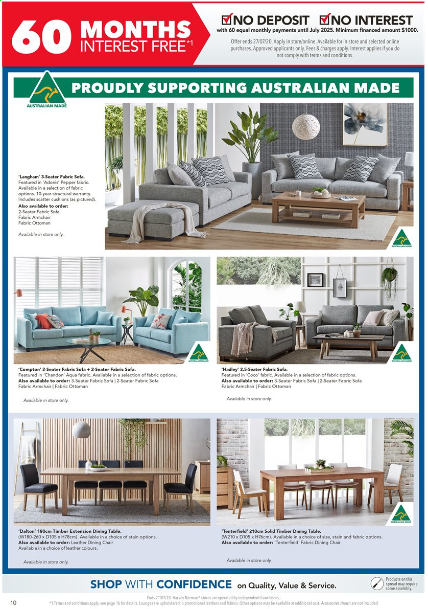 Harvey Norman catalogue  - 17.7.2020 - 21.7.2020. Page 10.