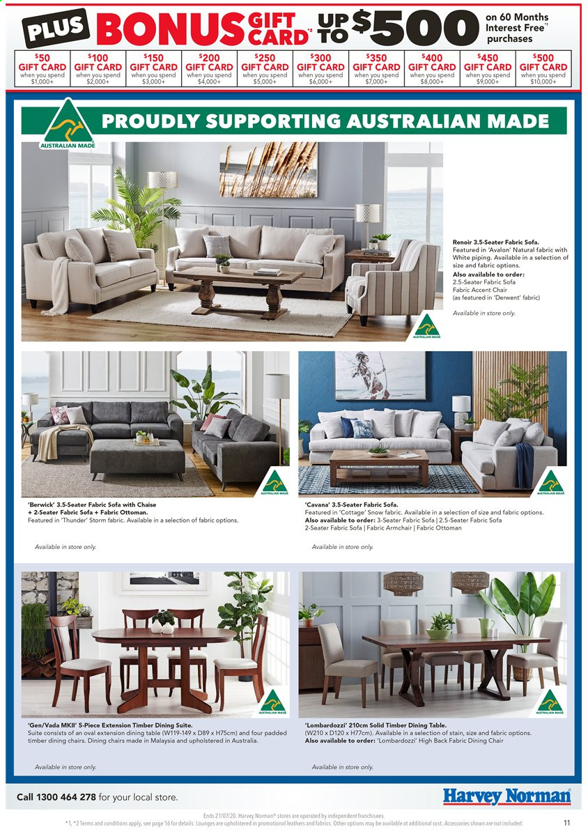 Harvey Norman catalogue  - 17.7.2020 - 21.7.2020. Page 11.