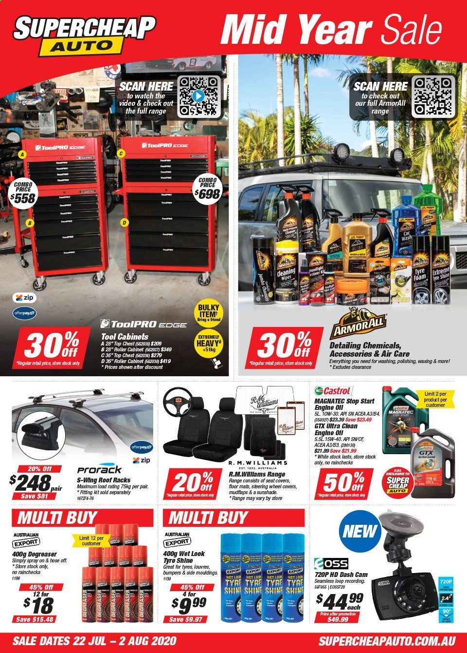 Supercheap Auto catalogue  - 22.7.2020 - 2.8.2020. Page 1.