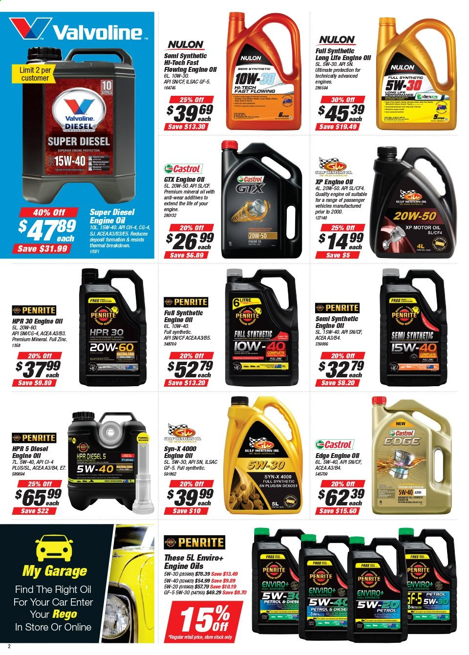 Supercheap Auto catalogue  - 22.7.2020 - 2.8.2020. Page 2.