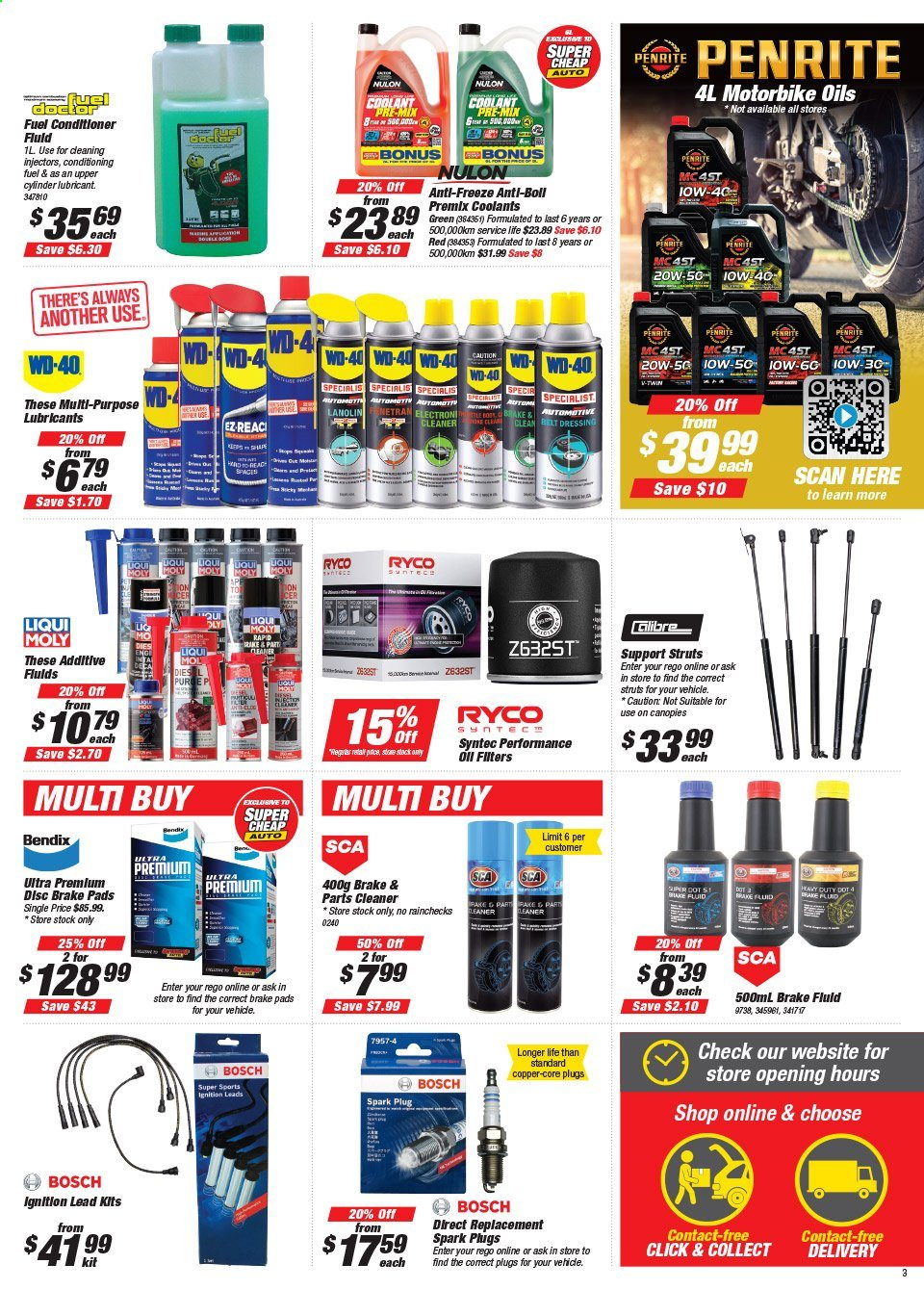 Supercheap Auto catalogue  - 22.7.2020 - 2.8.2020. Page 3.