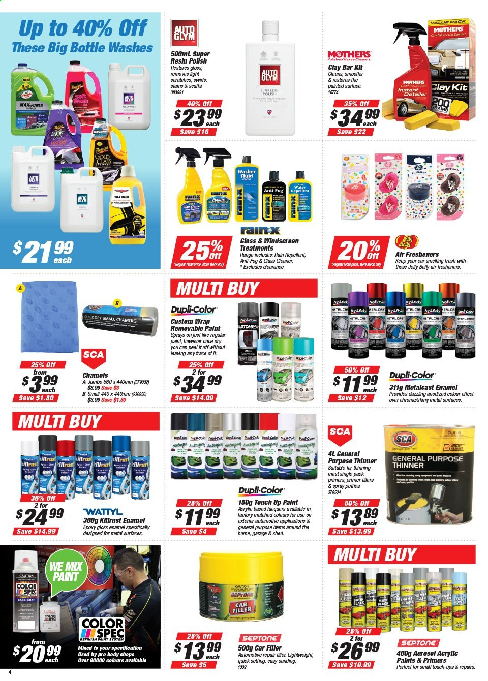 Supercheap Auto catalogue  - 22.7.2020 - 2.8.2020. Page 4.