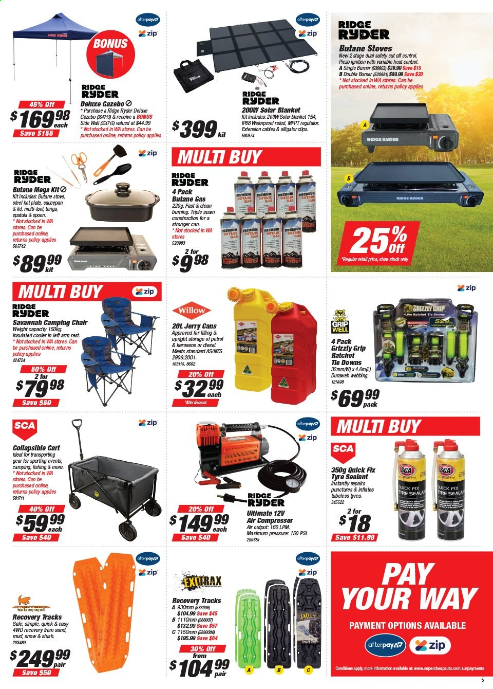 Supercheap Auto catalogue  - 22.7.2020 - 2.8.2020. Page 5.