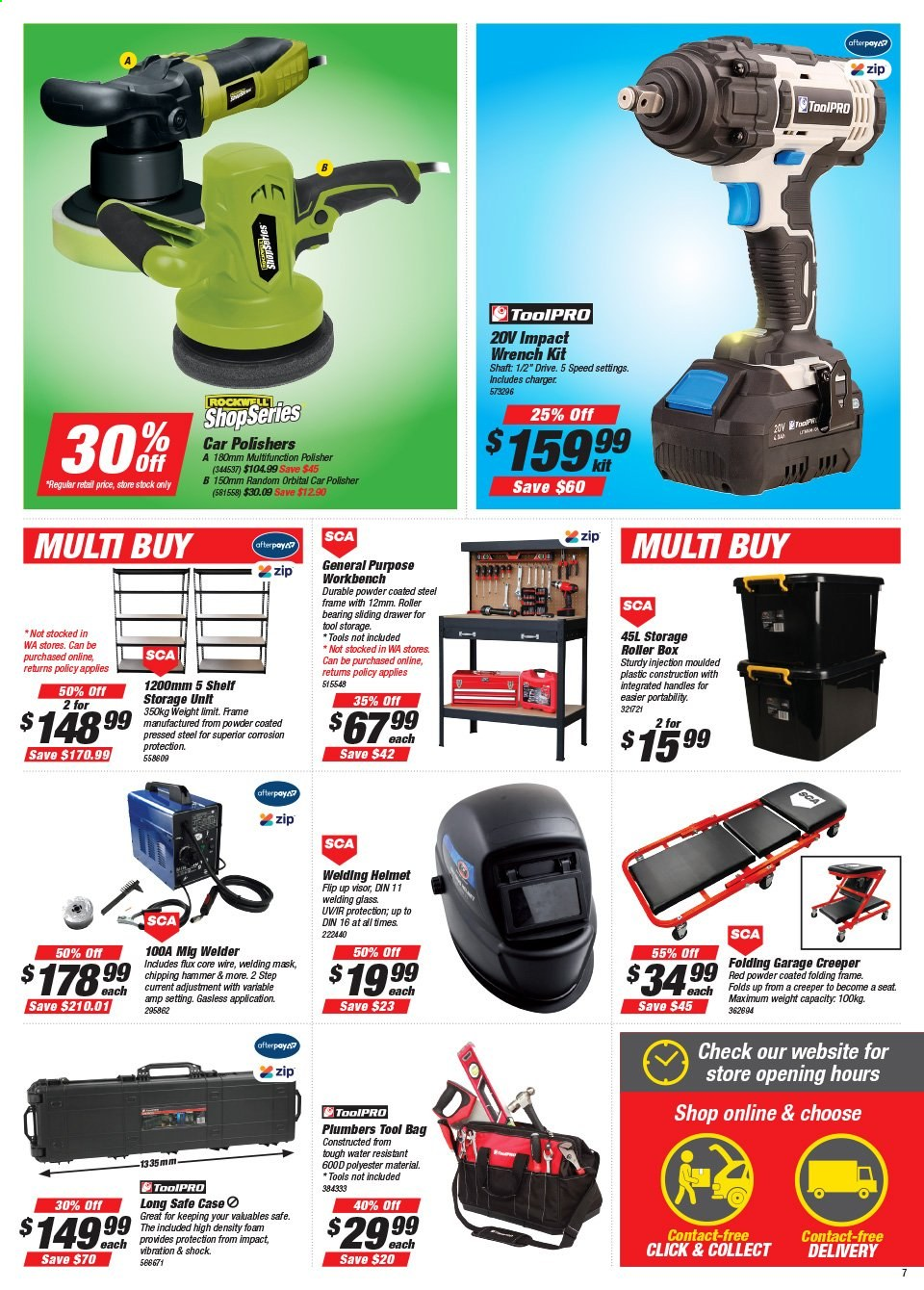 Supercheap Auto catalogue  - 22.7.2020 - 2.8.2020. Page 7.