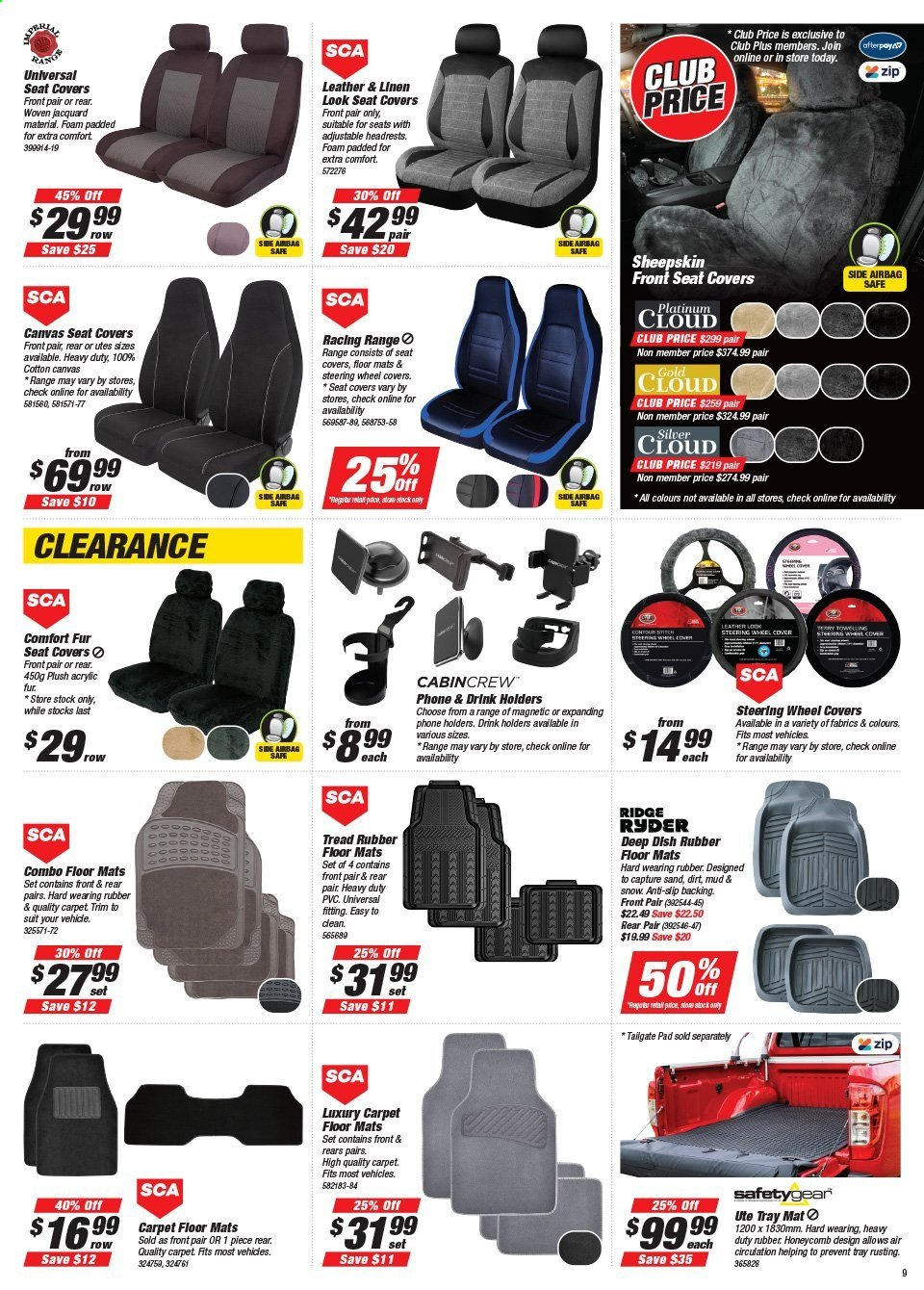 Supercheap Auto catalogue  - 22.7.2020 - 2.8.2020. Page 9.