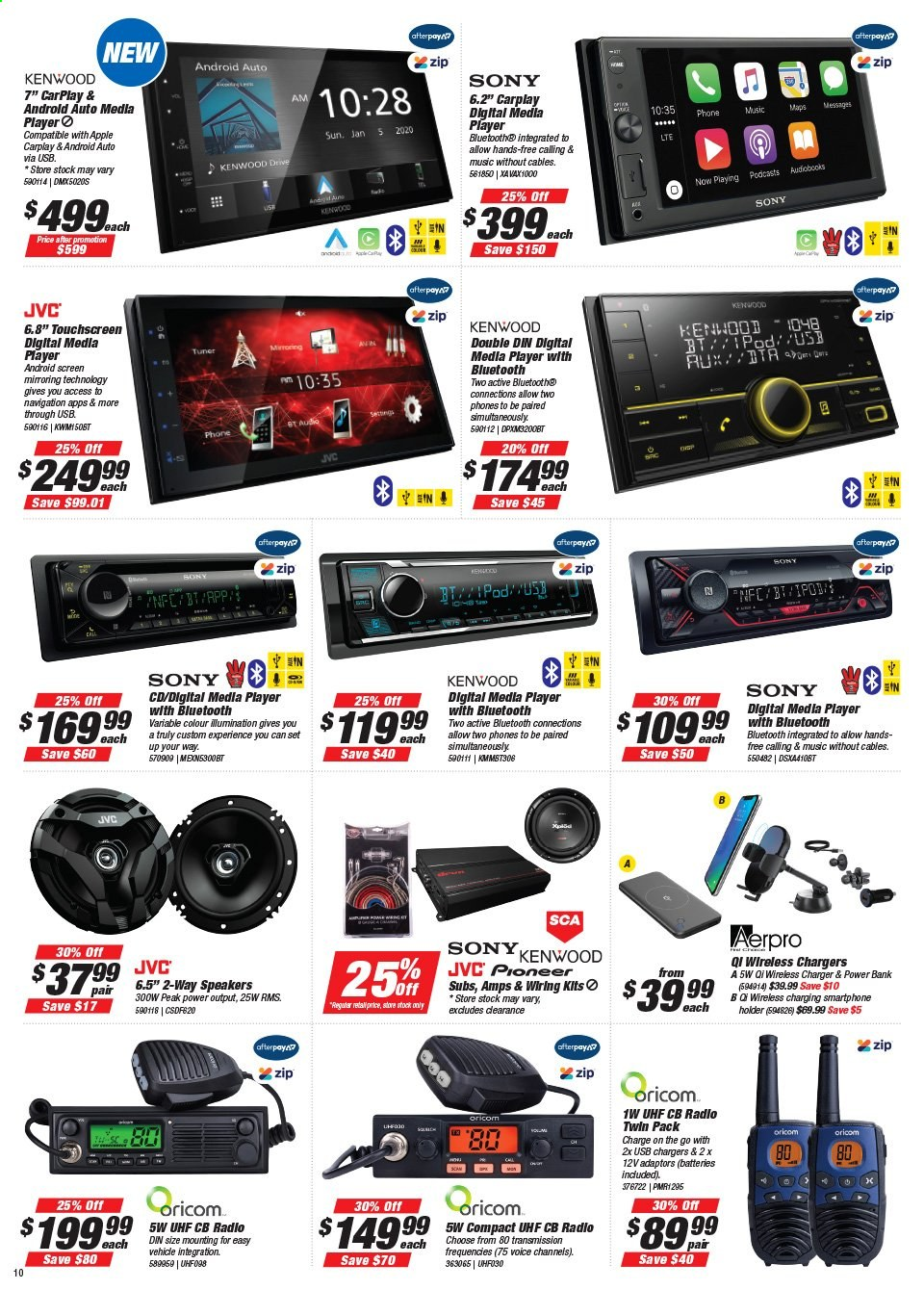 Supercheap Auto catalogue  - 22.7.2020 - 2.8.2020. Page 10.