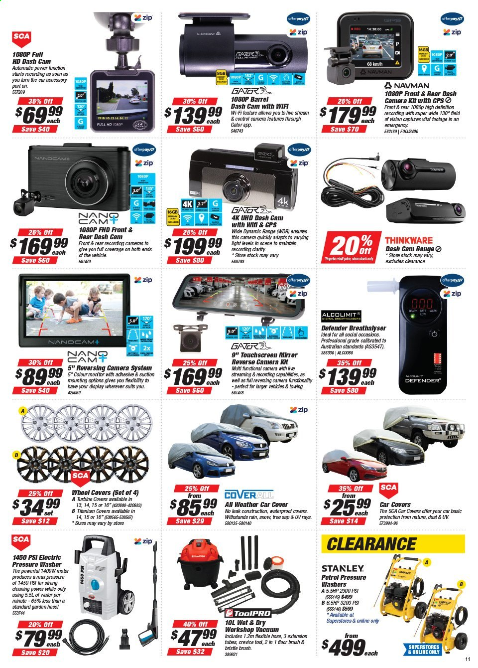 Supercheap Auto catalogue  - 22.7.2020 - 2.8.2020. Page 11.