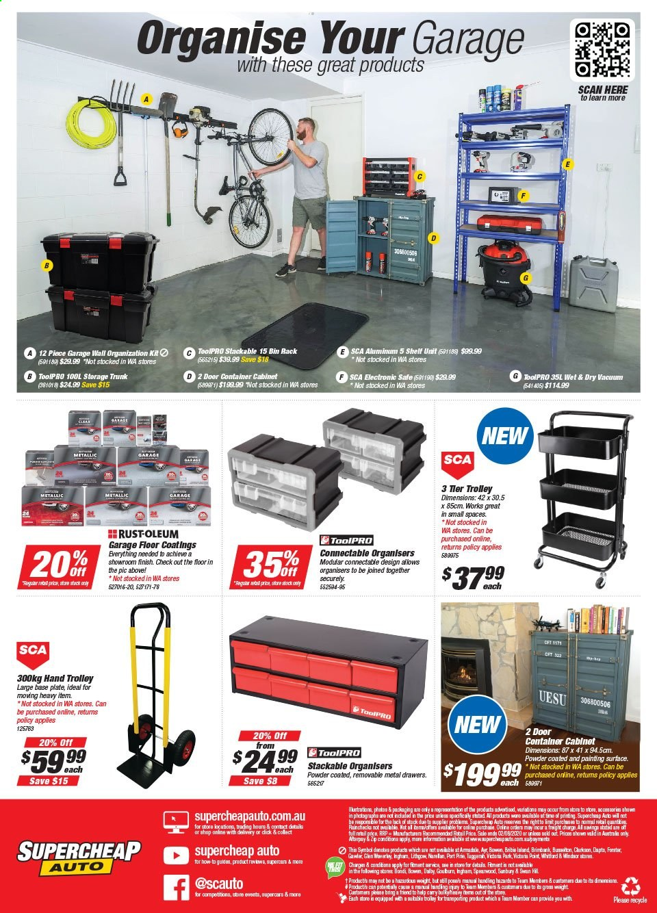 Supercheap Auto catalogue  - 22.7.2020 - 2.8.2020. Page 12.