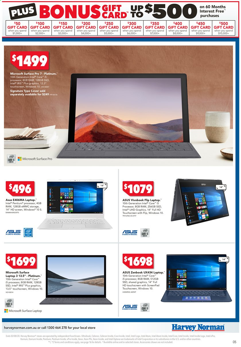 Harvey Norman catalogue  - 24.7.2020 - 2.8.2020. Page 5.