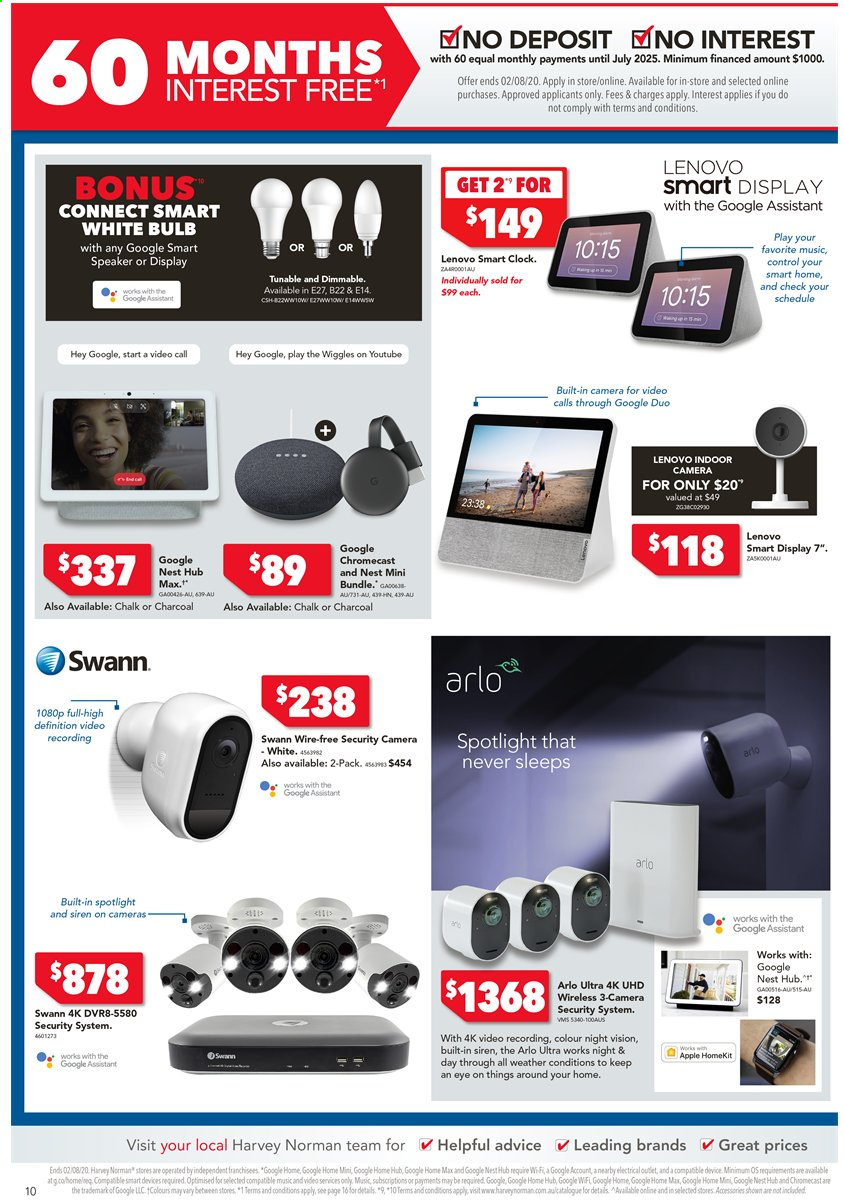 Harvey Norman catalogue  - 24.7.2020 - 2.8.2020. Page 10.