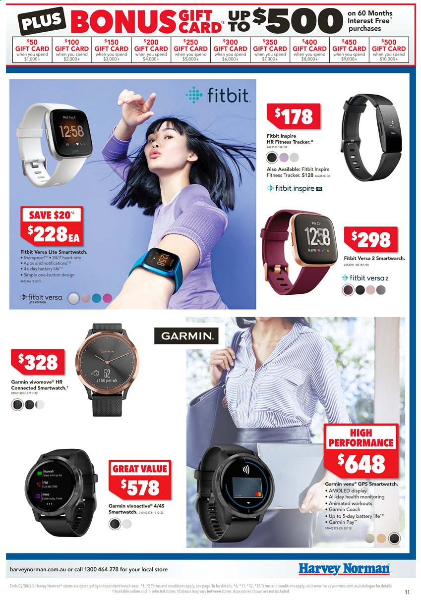 Harvey Norman catalogue  - 24.7.2020 - 2.8.2020. Page 11.