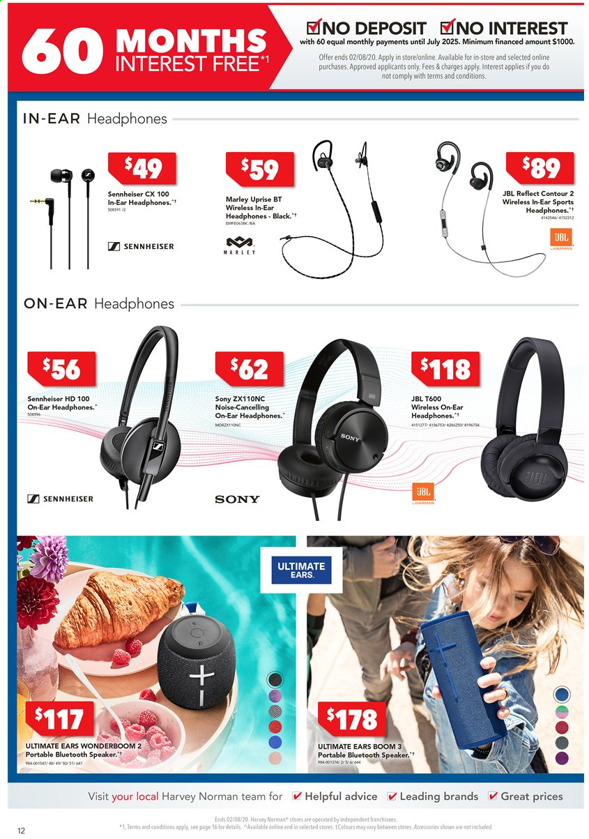 Harvey Norman catalogue  - 24.7.2020 - 2.8.2020. Page 12.