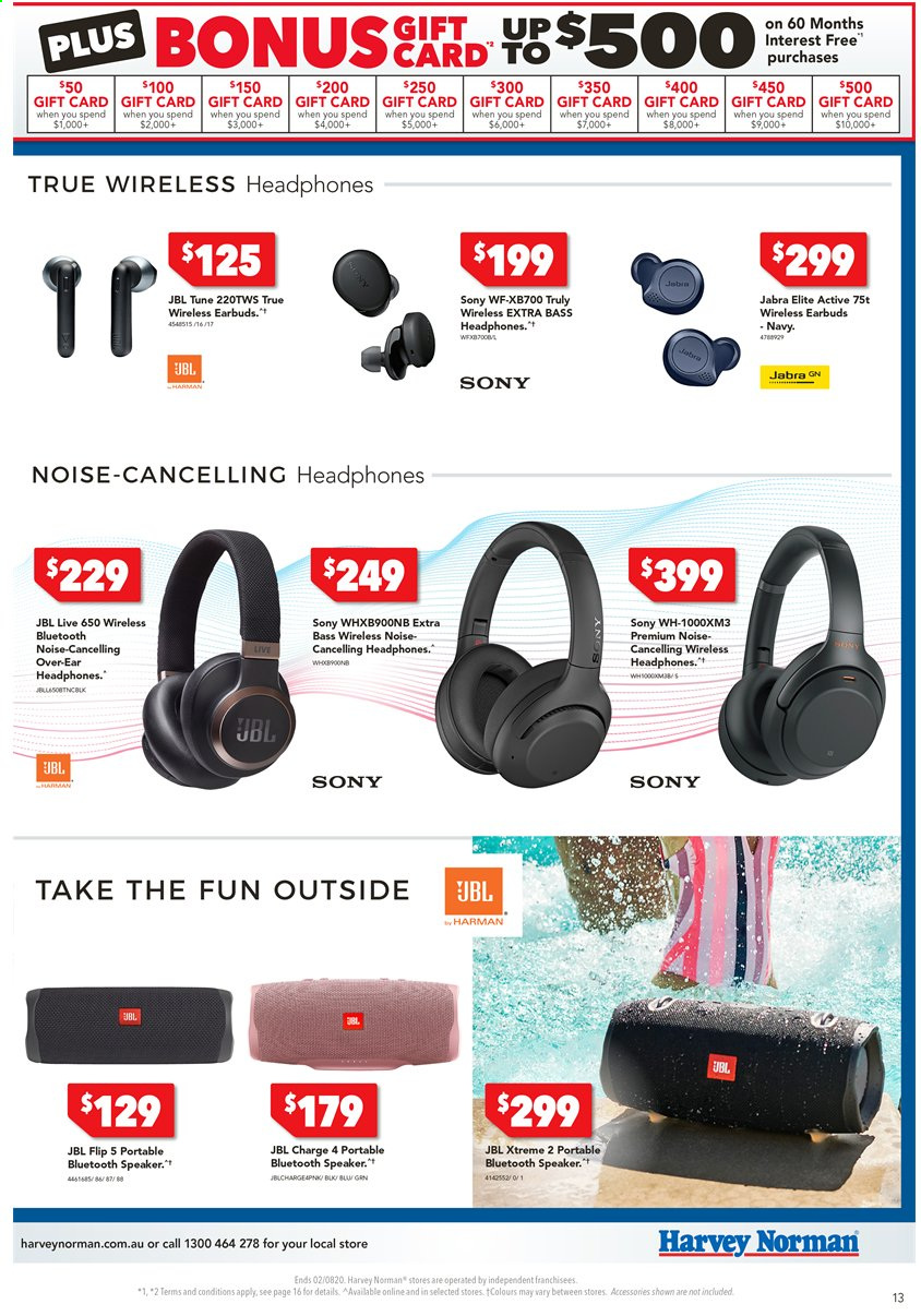Harvey Norman catalogue  - 24.7.2020 - 2.8.2020. Page 13.