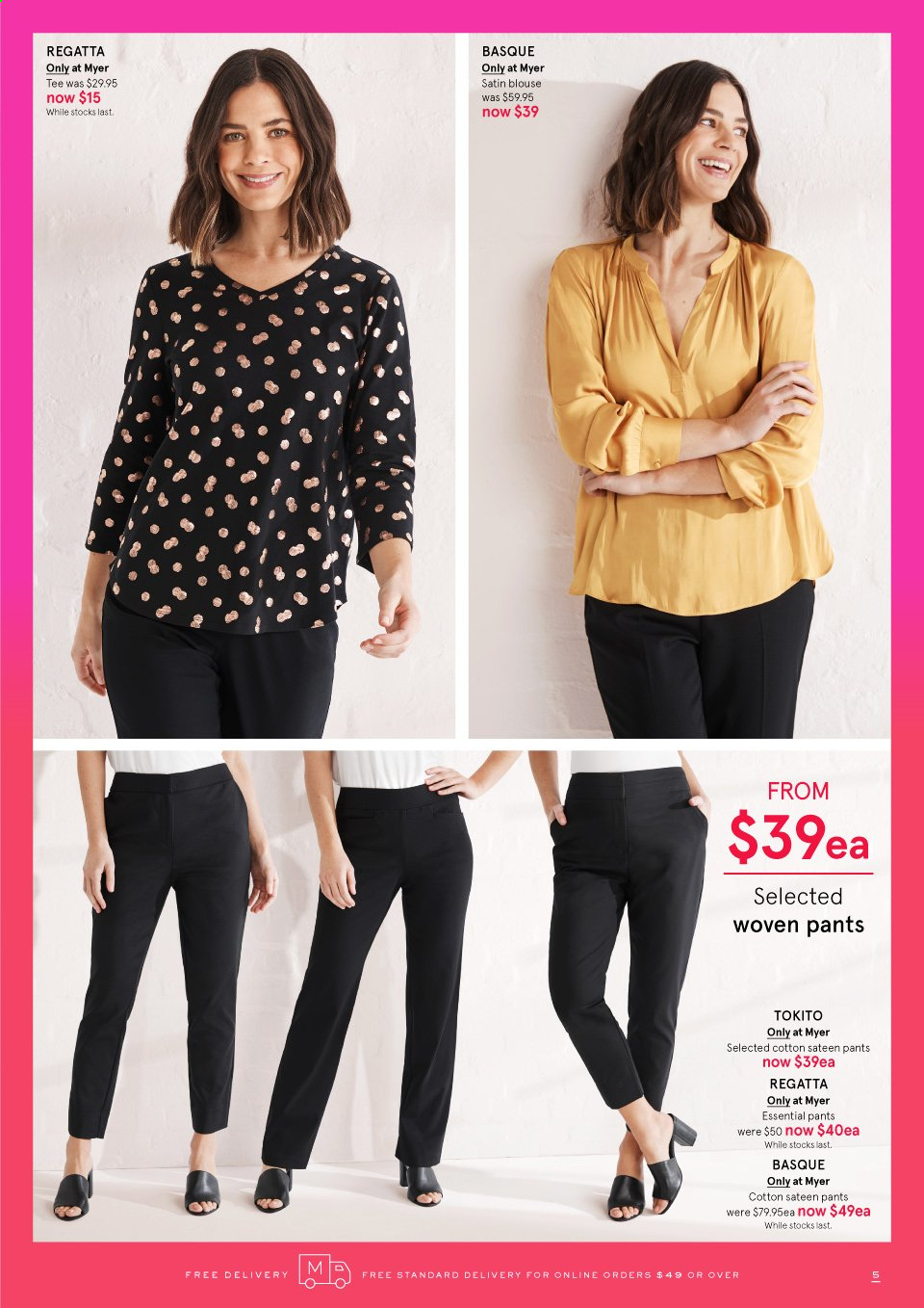 Myer catalogue . Page 5.