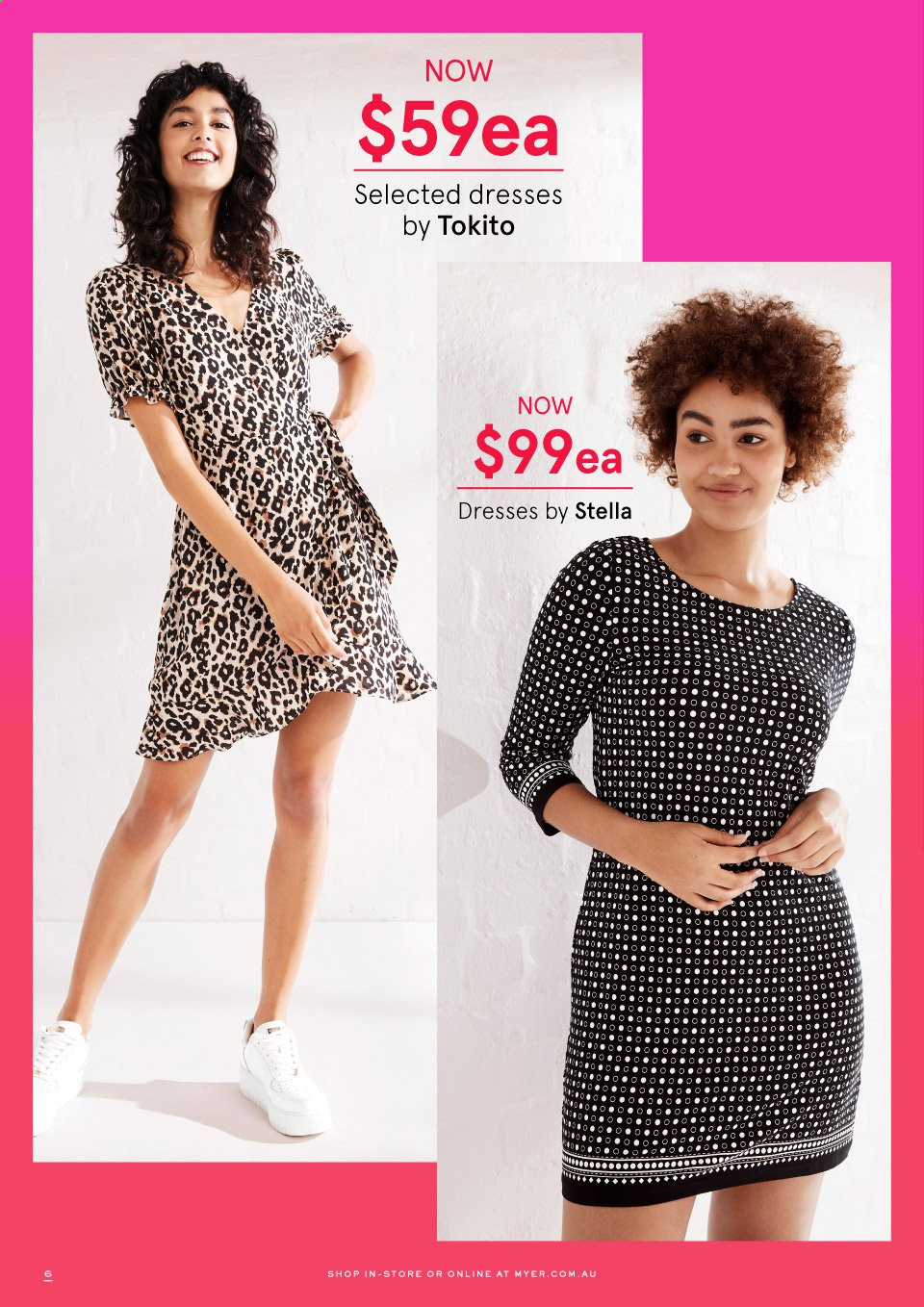 Myer catalogue . Page 6.