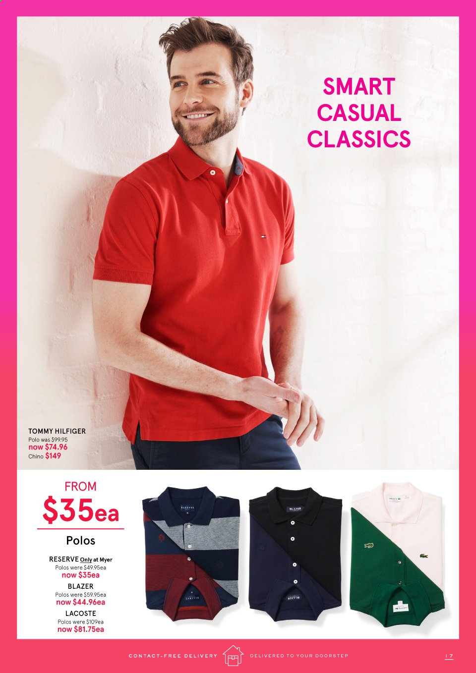 Myer catalogue . Page 17.