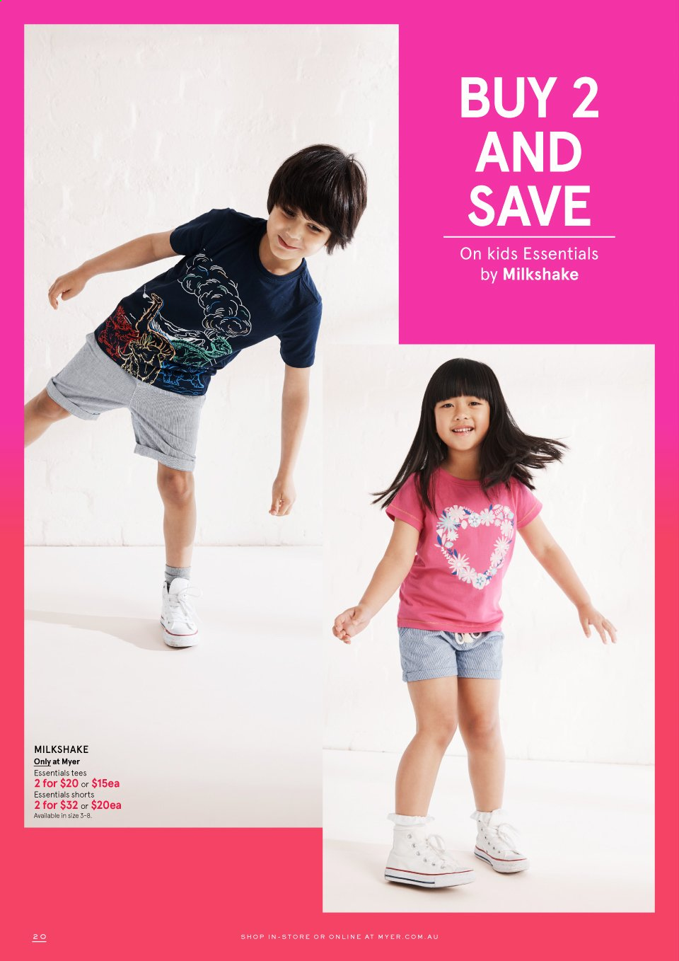 Myer catalogue . Page 20.