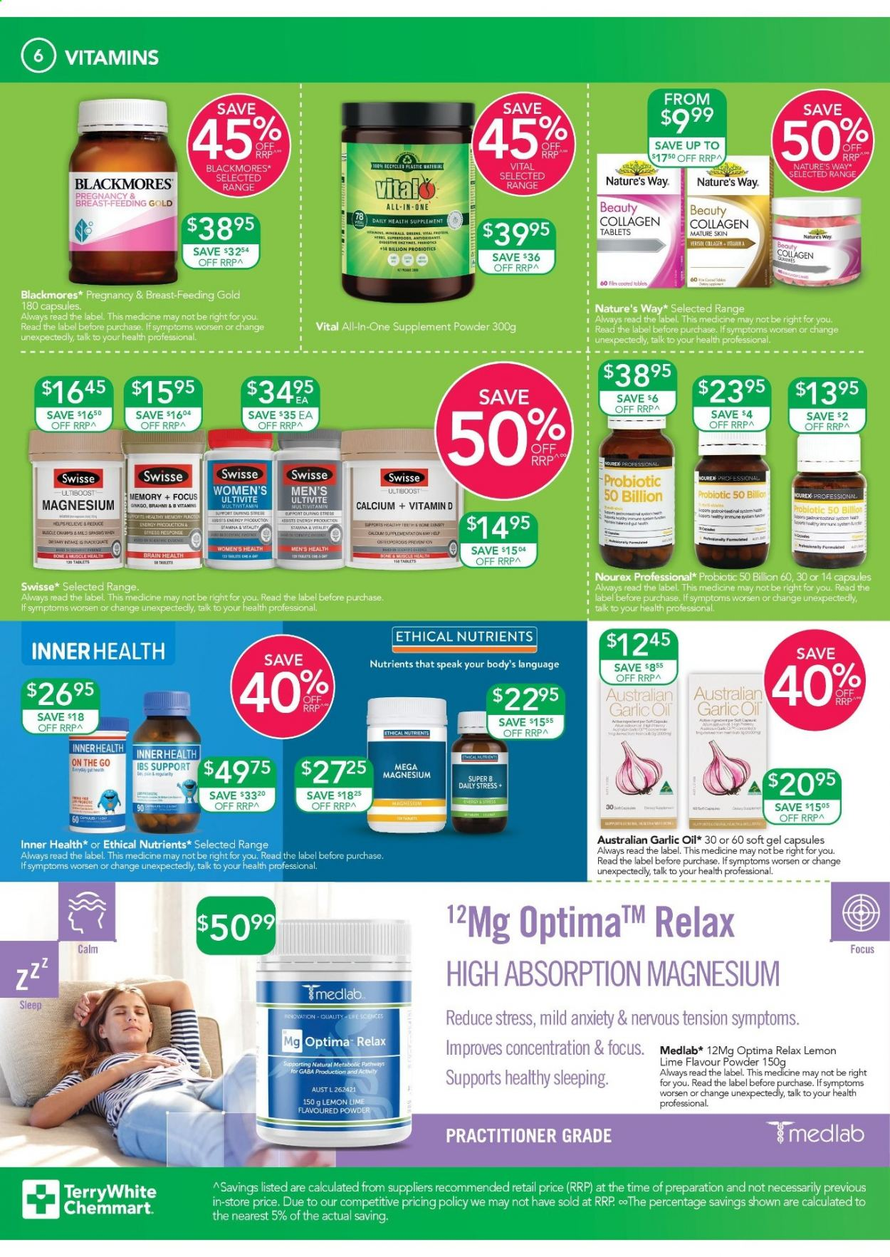 TerryWhite Chemmart catalogue  - 10.9.2020 - 29.9.2020. Page 6.