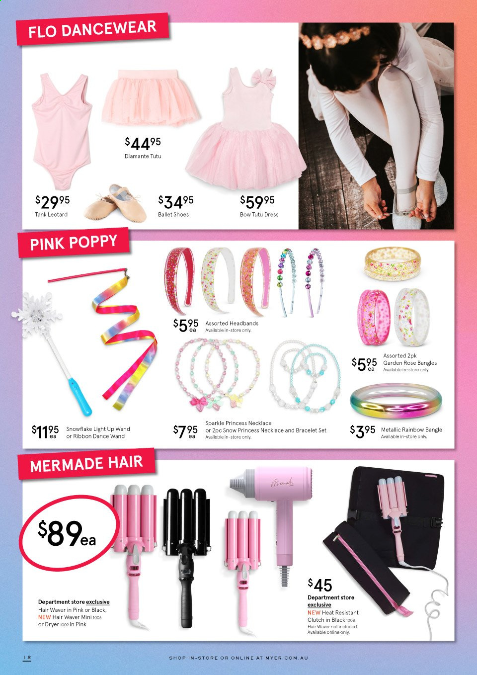 Myer catalogue  - 17.9.2020 - 18.10.2020. Page 12.