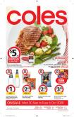 Coles Catalogue - 30.9.2020 - 6.10.2020.