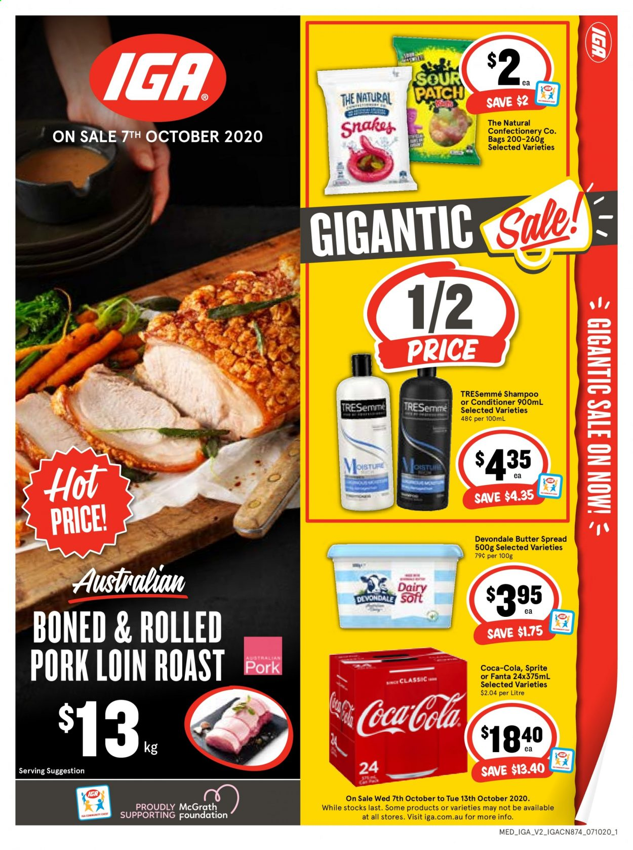 IGA Catalogue - 7.10.2020 - 13.10.2020 - Sales products - coca-cola. Page 1.