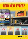 Catalogue JAX Tyres