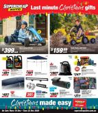 Supercheap Auto Catalogue - 10.12.2020 - 22.12.2020.
