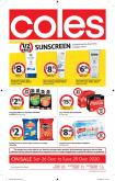 Coles Catalogue - 26.12.2020 - 29.12.2020.